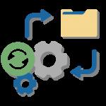 automated backup files